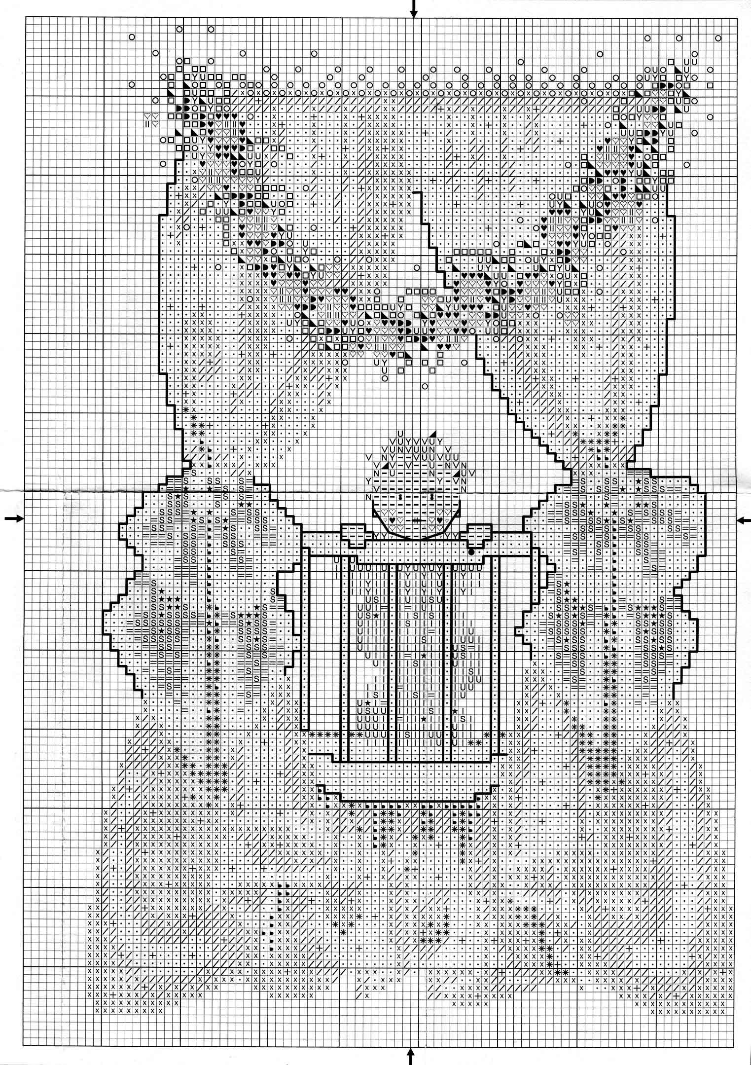 Схемы вышивок мирабилия
