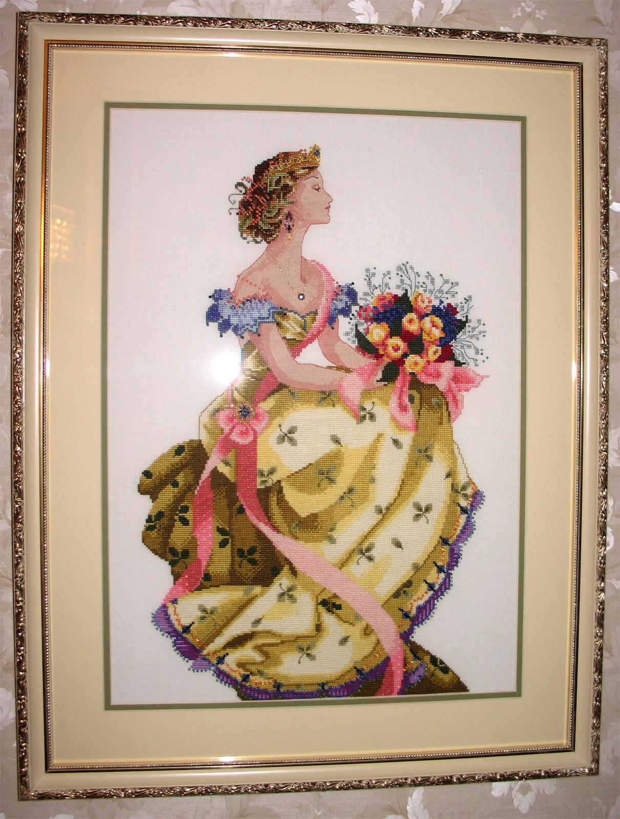 Схема для вышивки queen